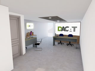 Study/office by DACAT, Modern