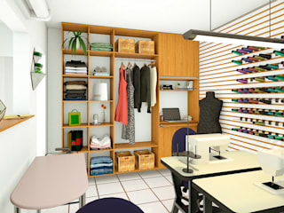 Estudios y despachos de estilo  de Mariê Arquitetura, Moderno
