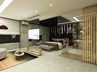 Hoteles de estilo  de Mariê Arquitetura, Moderno
