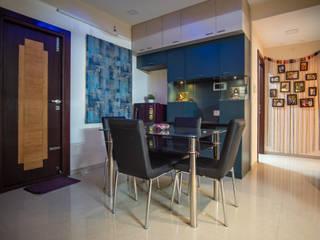 2 BHK, RV Panchajanya Modern dining room by Celestial Designs Modern