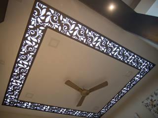 2 BHK, RV Panchajanya Modern living room by Celestial Designs Modern