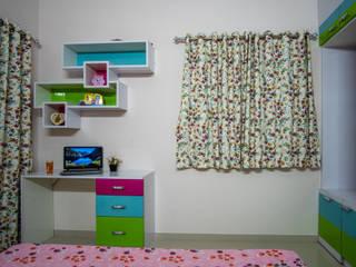 2BHK, Masjid Banda Modern style bedroom by Celestial Designs Modern