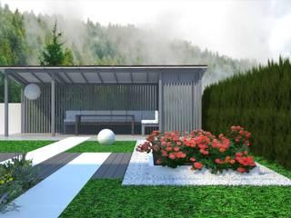Balcones y terrazas de estilo minimalista de Белый сад Minimalista