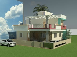 Proposed Building For Shri Narasagouda Nemagonda Patil at Borgaon:   by Patil constructions,