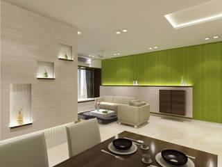 Minimalist living room by RK Design Studio Minimalist