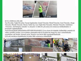 Anti Graffiti temziliyiciler. Sindolin Dizayn Endüstriyel