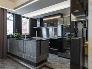 Small kitchens by 你你空間設計, Modern