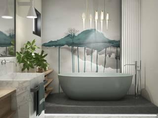 MIKOŁAJSKAstudio Modern Bathroom