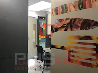 Modern Office Interiors @ Mumbai:  Study/office by Planspace Designs Globally Pvt Ltd,