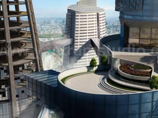 Многоквартирные дома в . Автор – Yantram Architectural Design Studio,
