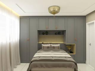 Projeto de Interiores - Cliente A por Welizângela Prates Interiores
