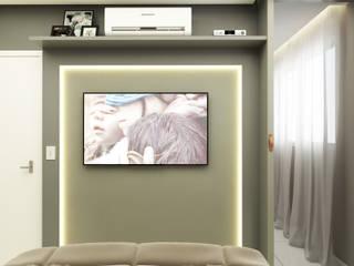 Projeto de Interiores - Cliente A Welizângela Prates Interiores