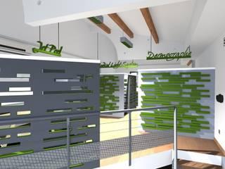VRAC 3D Bureau moderne par Concepteur Designer d'Espace - Cyril DARD Moderne