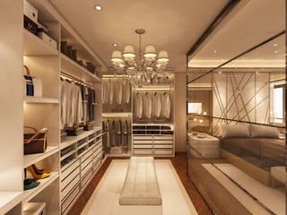 Suite Penthouse Geneva Alpha Details Closets modernos