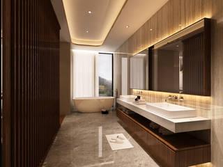 Suite Penthouse Geneva Casas de banho clássicas por Alpha Details Clássico