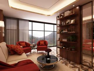 Quarto - hotel 5 estrelas : Quartos  por Alpha Details,Moderno
