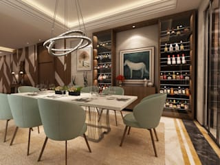 Modern dining room by Alpha Details Modern