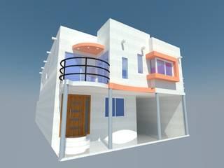 Detached home by Constru - Acción, Modern