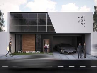 oficinas corporativas Estudios y despachos minimalistas de Mgarquitectos Minimalista