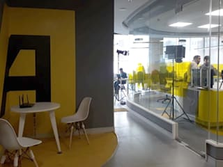 Asiaville Modern offices & stores by Art Space Design studio Modern