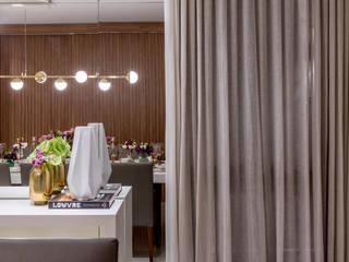 Comedores de estilo moderno de Carolina Fagundes - Arquitetura e Interiores Moderno