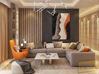 Modern Living Room by Archeffect Modern