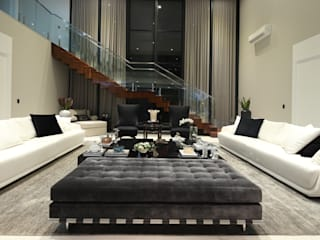 Modern living room by Carolina Fagundes - Arquitetura e Interiores Modern