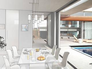 Comedores de estilo  por Arkiline Arquitectura Optativa, Moderno