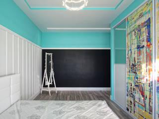 Dormitorios infantiles modernos de Студия интерьерного дизайна happy.design Moderno