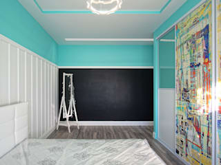 Chambre d'enfant moderne par Студия интерьерного дизайна happy.design Moderne