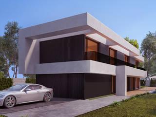 White Clouds House por SAME - Studio Architects Moderno
