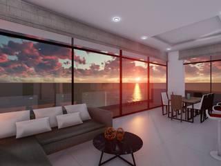Altamar Torre Residencial Comedores modernos de Inmobiliaria PROGUCI S.A. de C.V. Moderno