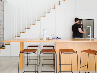 Arquiteto Rio de Janeiro - RJ (21) 98785-9551 Whatsapp ห้องครัว ไม้ผสมพลาสติก Wood effect