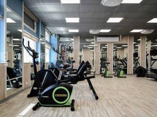 Salle de sport de style  par SING萬寶隆空間設計,