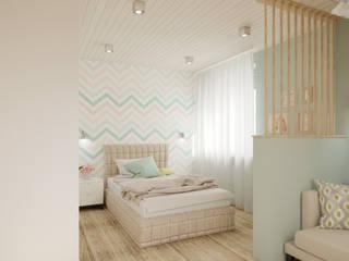 Детская комната для девочки от BAUART INTERIOR DESIGN Эклектичный