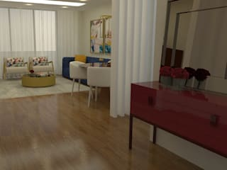 Koridor dan lorong oleh Casactiva Interiores, Modern