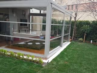 Sarıyer Kış Bahçesi Projemiz Modern Kış Bahçesi Yapısan Cephe Sistemleri Modern