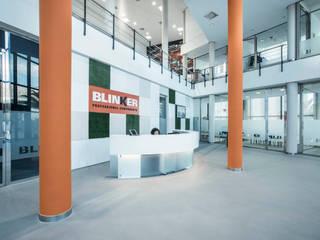 Rehabilitación de oficinas en Alicante Edificios de oficinas de estilo moderno de Tono Lledó Estudio de Interiorismo en Alicante Moderno
