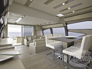 Yacht planks - Country Decapé oak floor โดย Cadorin Group Srl - Top Quality Wood Flooring โมเดิร์น