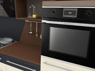 Cocinas modernas: Ideas, imágenes y decoración de higloss-design.de - Ihr Küchenhersteller Moderno