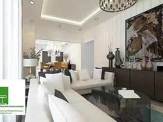 Residential -Villa : modern  by Design in myway pvt ltd,Modern