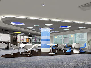 SAP Labs Break Out Area - Bangalore by Design in myway pvt ltd