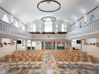 Christ Church Hart Design and Construction Moderne winkelruimten