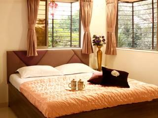 Moderne Schlafzimmer von Neha Changwani Modern