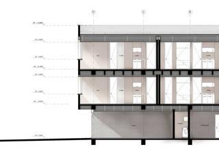 por UN estudio de Arquitectura Minimalista