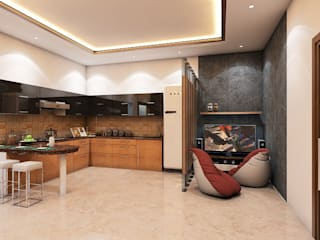 Modern Kitchen by Petals Art Decor Modern