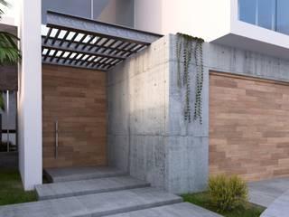 RESIDENCIA SALCEDO: Villas de estilo  por URITA arquitectos,