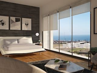 Modern style bedroom by CG-Arquitecto Modern