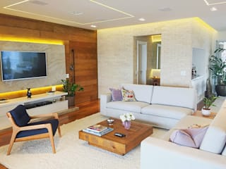 Modern living room by Mazorra Studio Modern