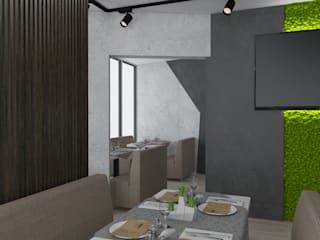 Phòng ăn theo Art project rocket, Công nghiệp